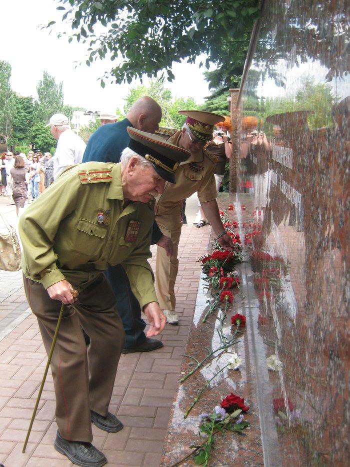 В 70-ю годовщину начала Великой Отечественной войны в Мариуполе почтили память погибших (ФОТО), фото-14