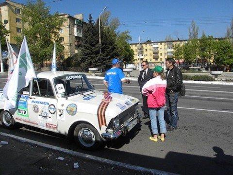 Сегодня участники международного автопробега «Победили вместе!» посетили Мариуполь (ФОТО), фото-1
