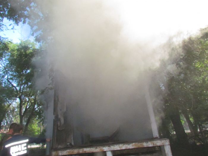 В Мариуполе горит подвал с сеном (ФОТО), фото-2