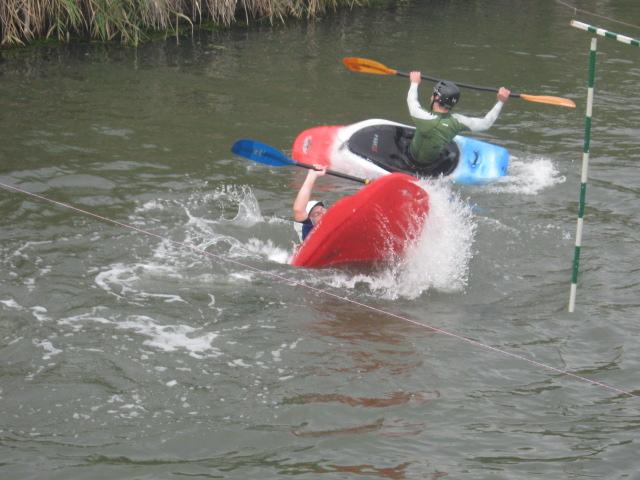 В Мариуполе  на реке Кальчик прошло первенство города по технике водного туризма (ФОТО), фото-15