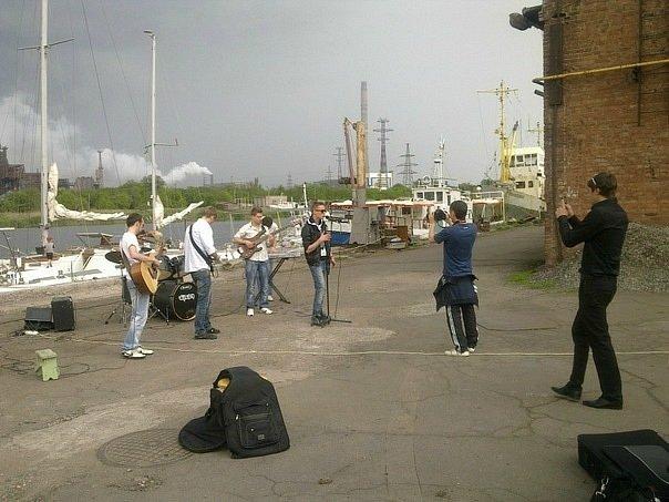 Киевская музыкальная группа «140 Д» сняла в Мариуполе клип (ФОТО+ВИДЕО), фото-2