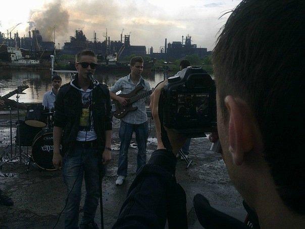 Киевская музыкальная группа «140 Д» сняла в Мариуполе клип (ФОТО+ВИДЕО), фото-4