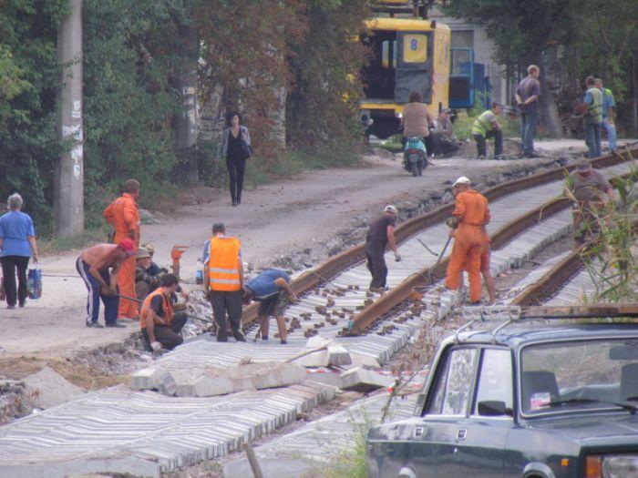 В Мариуполе ко Дню города хотят пустить первый после капремонта трамвай по бул. Шевченко (ФОТО), фото-4