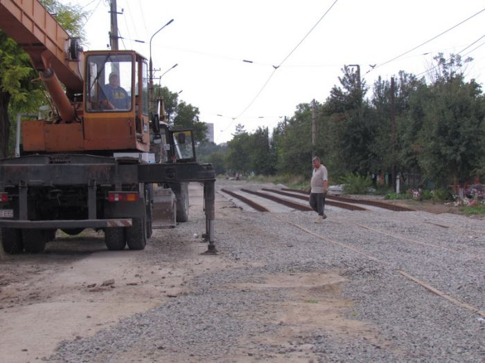 В Мариуполе ко Дню города хотят пустить первый после капремонта трамвай по бул. Шевченко (ФОТО), фото-12