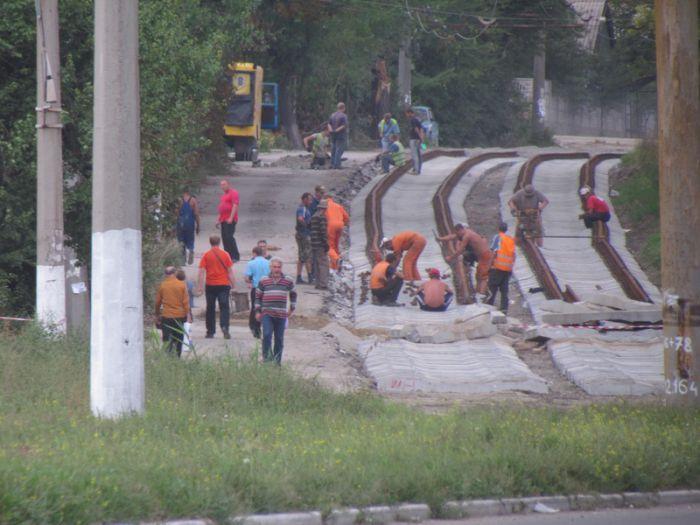 В Мариуполе ко Дню города хотят пустить первый после капремонта трамвай по бул. Шевченко (ФОТО), фото-1