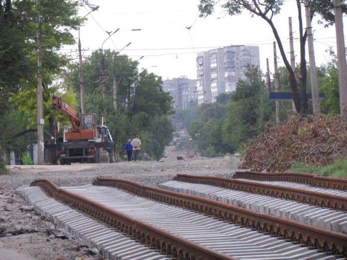 В Мариуполе ко Дню города хотят пустить первый после капремонта трамвай по бул. Шевченко (ФОТО), фото-11
