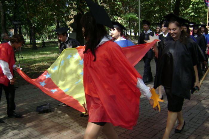 В Мариуполе  полтысячи лицеистов вышли на «Парад эпох» (ФОТО), фото-6