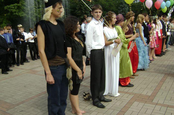 В Мариуполе  полтысячи лицеистов вышли на «Парад эпох» (ФОТО), фото-8