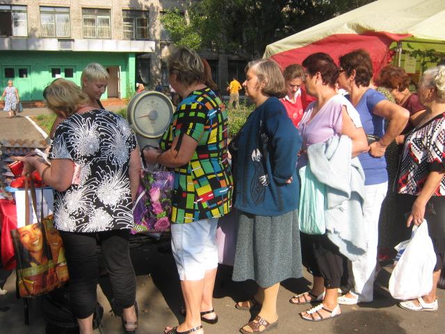 В  Мариуполе  в канун дня города  в поселке Моряков  прошла праздничная ярмарка (ФОТО), фото-1