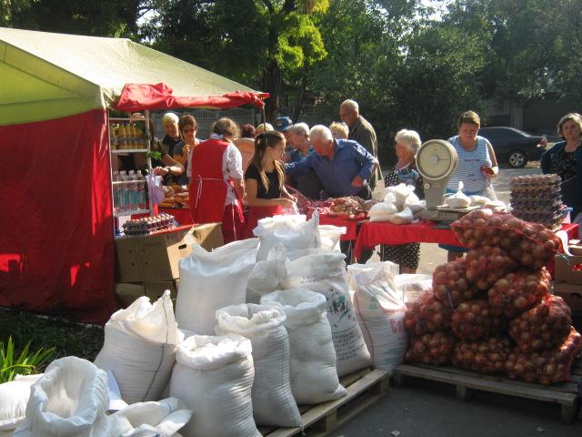 В  Мариуполе  в канун дня города  в поселке Моряков  прошла праздничная ярмарка (ФОТО), фото-3