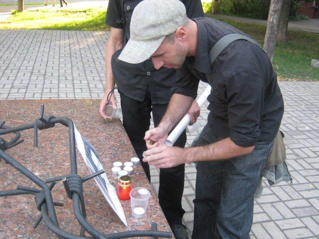 В Мариуполе почтили память  Георгия Гонгадзе (ФОТО), фото-2
