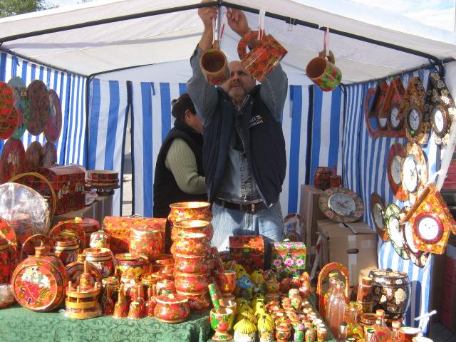 Мариупольский чиновник купил на ярмарке колокольчик для любимой тещи (ФОТО), фото-1