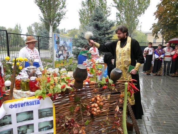 В Новоазовске пограничники устроили праздник урожая (ФОТО), фото-9