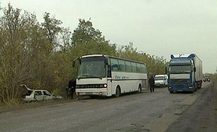 «Таврия» сбила на остановке 10 пассажиров автобуса «Мариуполь - Северодонецк» (ФОТО), фото-14