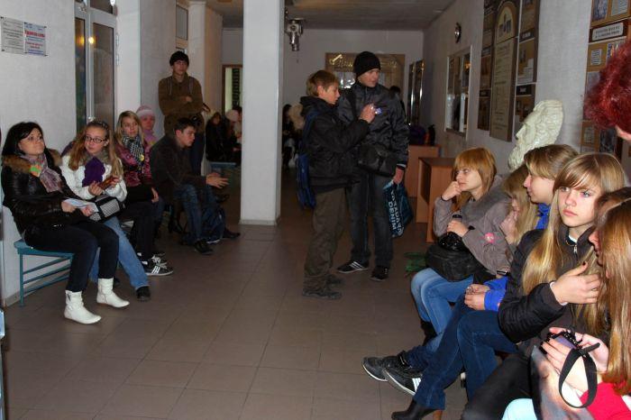 Участники в ожидании результатов конкурса