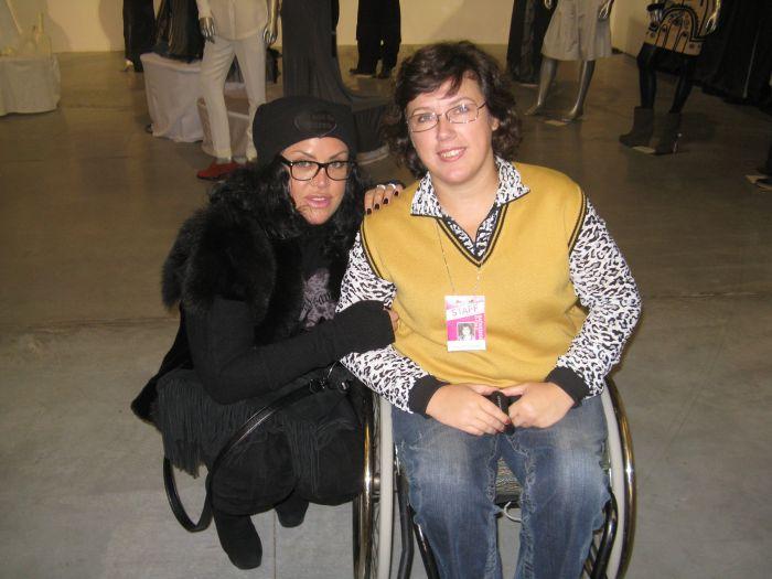 Мариупольчанка, передвигающаяся на коляске, приняла участие в работе Украинской Недели моды (ФОТО), фото-5