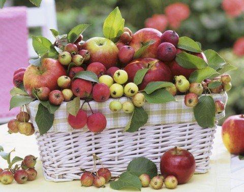 Мариуполь заполонили крымские яблоки, фото-1