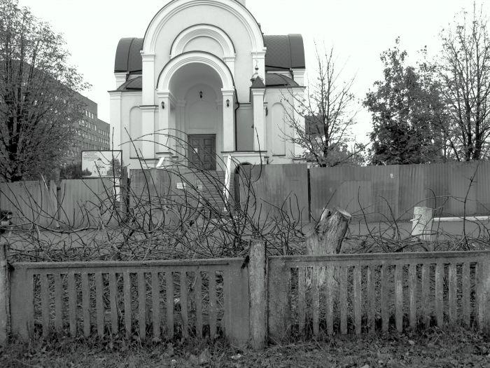 На территории храма возле горбольницы №2 вырубили деревья (ФОТО), фото-2