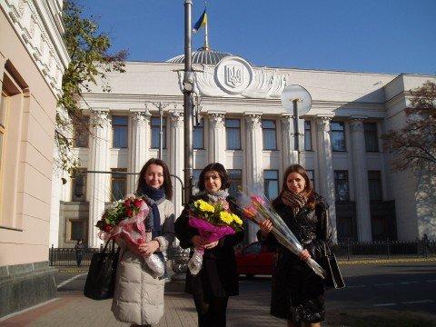 Три юные  мариупольчанки будут помогать  Верховной Раде принимать законы (ФОТО), фото-1