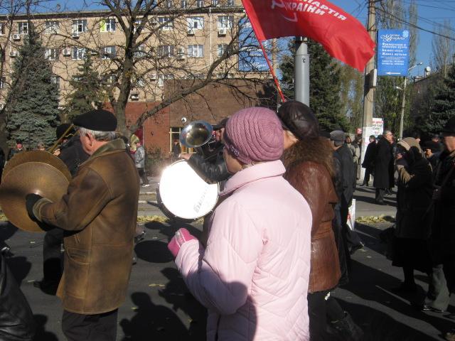 В Мариуполе коммунисты призвали граждан к возвращению в СССР  (ФОТО) , фото-4