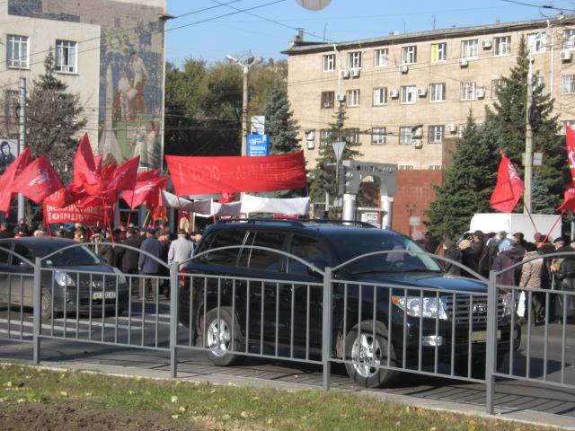 В Мариуполе коммунисты призвали граждан к возвращению в СССР  (ФОТО) , фото-2
