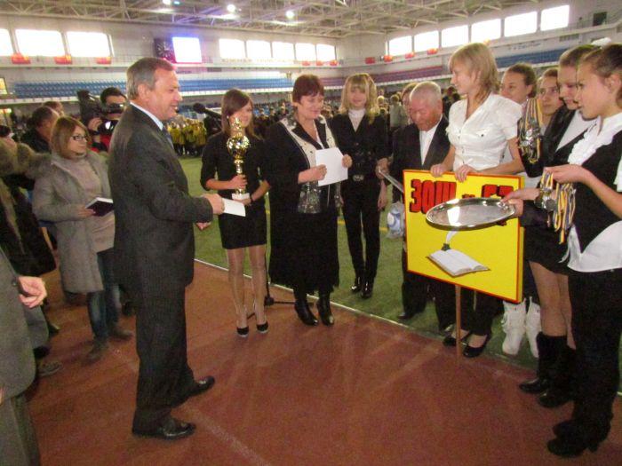 В Мариуполе наградили  лучшие школьные футбольные команды (ФОТО), фото-10