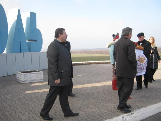 В Мариуполе председателя Донецкого облсовета принимали с президентскими почестями (ФОТО), фото-1