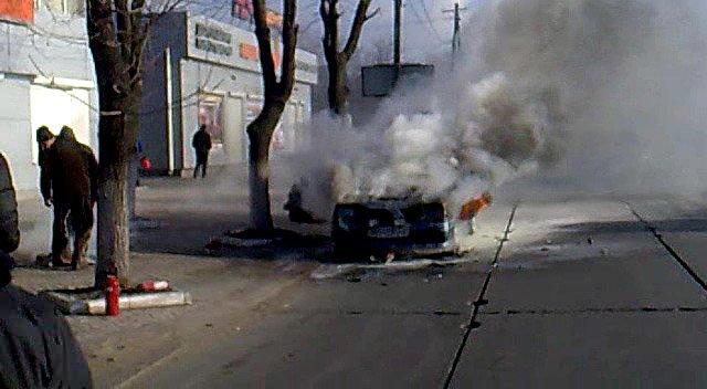 На ходу загорелась иномарка. Пострадавших нет (ФОТО), фото-16