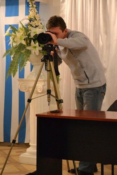 Киноаматоры встретились с режиссером из Мариуполя Артемом Дроботом (ФОТО), фото-1