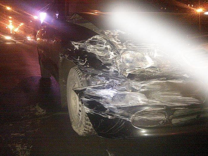 В Мариуполе «Mercedes»  и «Daewoo» не поделили  центральный перекресток (Фотофакт), фото-1