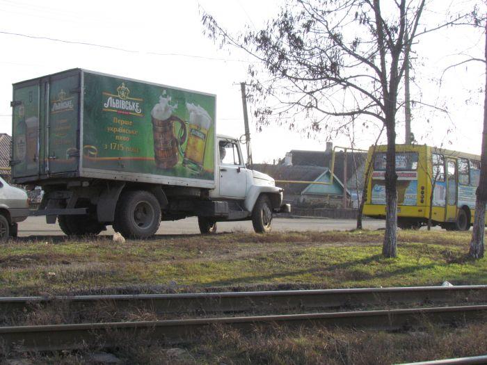 В Мариуполе маршрутка протаранила грузовик с пивом (ФОТО), фото-5