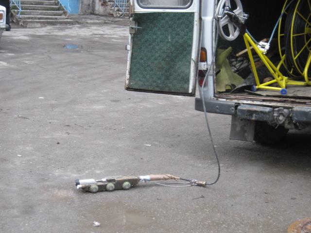 В Мариуполе прогнившие канализационные трубы ищет робот (ФОТО), фото-3