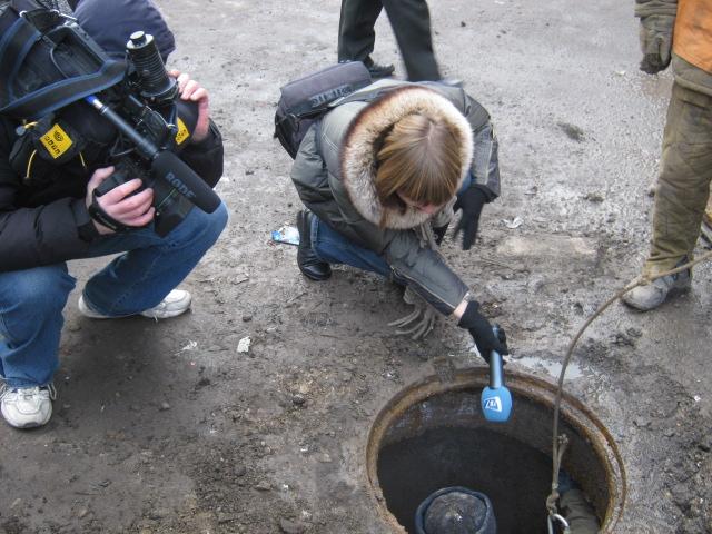В Мариуполе прогнившие канализационные трубы ищет робот (ФОТО), фото-5