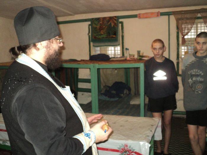 В Мариупольском СИЗО окропили святой водой тюремные камеры (ФОТО), фото-1