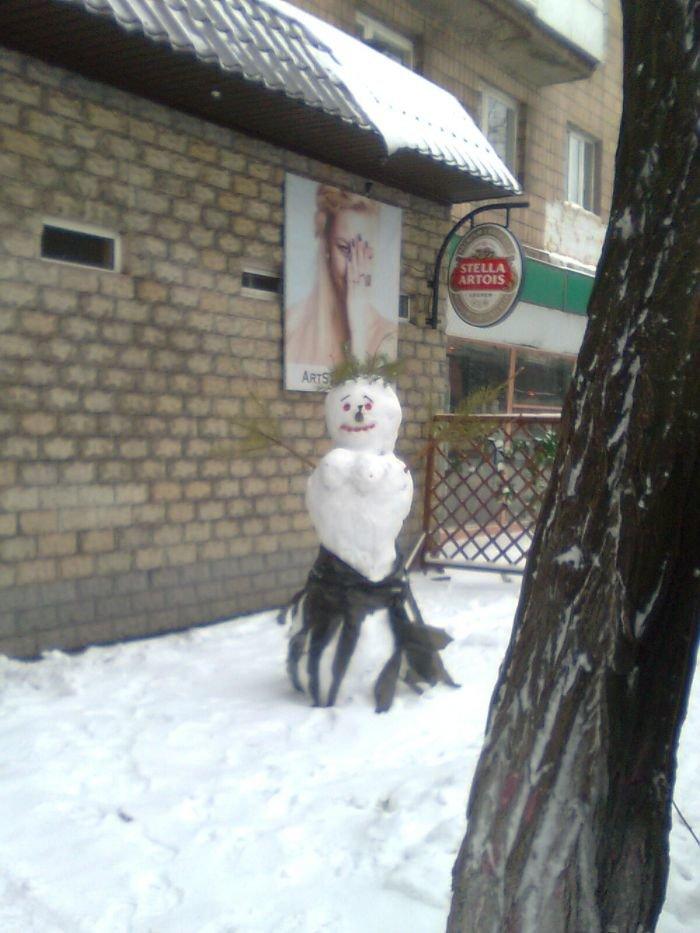 снеговик 1