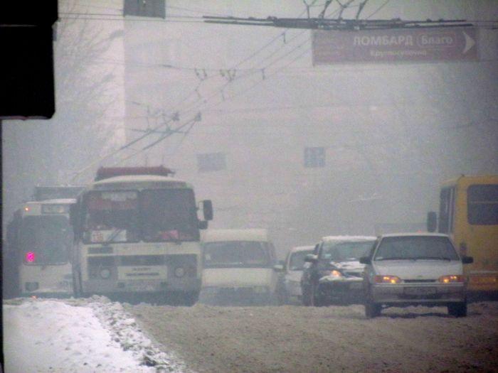 смог и снег 1