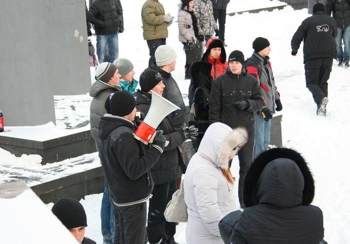 В Мариуполе состоялась снежная битва. Обошлось без жертв (ФОТО), фото-12