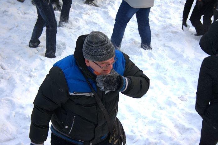 В Мариуполе состоялась снежная битва. Обошлось без жертв (ФОТО), фото-11