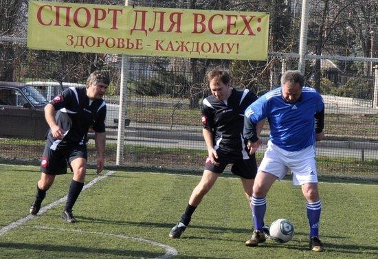 В Мариуполе состоялся футбольный матч между горсоветом и горисполкомом (ФОТО), фото-2