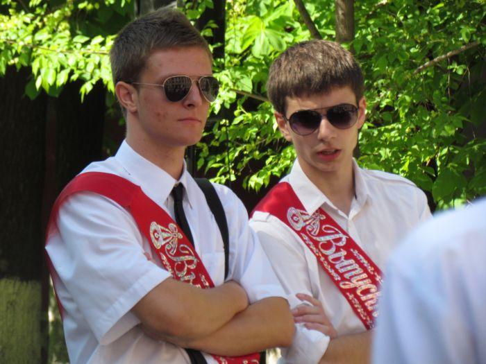 Мариупольские 11-классники попрощались со школой (ФОТО), фото-5