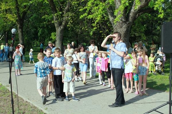 В парке Победы прошло праздничное мероприятие, фото-4
