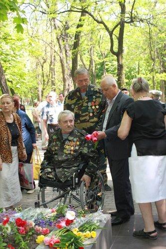 В Городском саду поздравили ветеранов Великой Отечественной войны, фото-8
