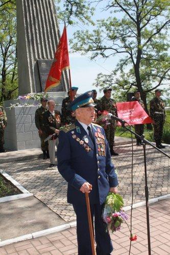 В Городском саду поздравили ветеранов Великой Отечественной войны, фото-4