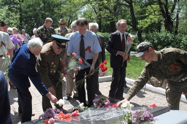 В Городском саду поздравили ветеранов Великой Отечественной войны, фото-7