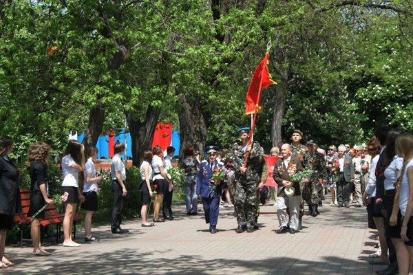 В Городском саду поздравили ветеранов Великой Отечественной войны, фото-1