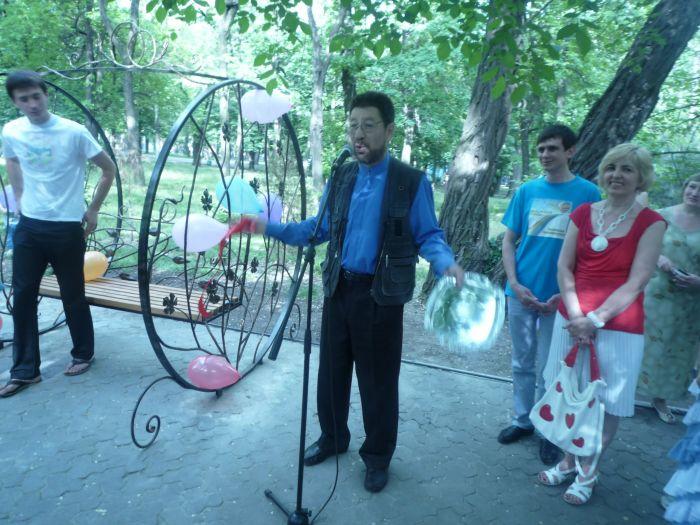 В мариупольском Городском саду появился новый романтический уголок (ФОТО), фото-3