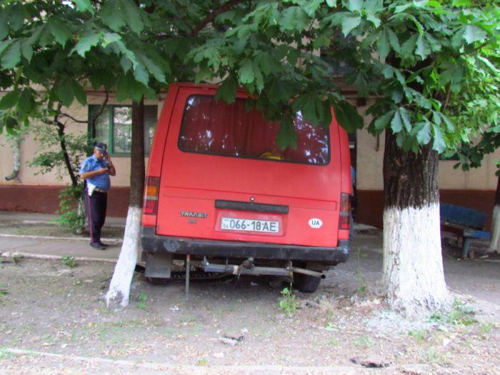 Цирк приехал. В Мариуполе пьяные «клоуны» протаранили маршрутку и застряли между деревьями (ФОТО), фото-10