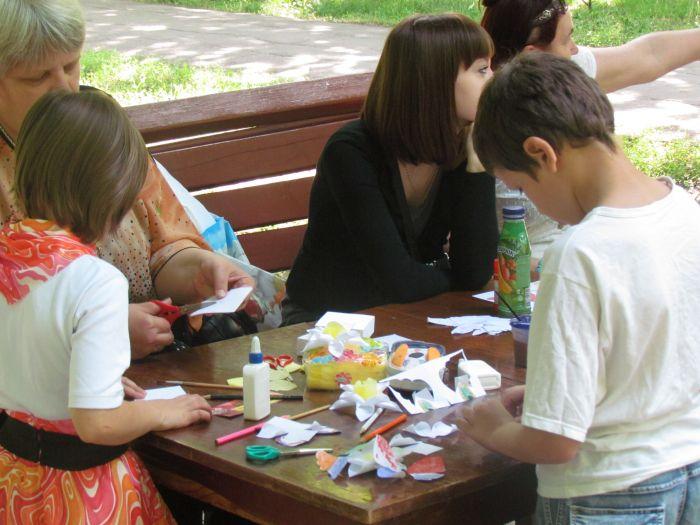 Мариупольская детвора в Городском саду встречала лето (ФОТО), фото-16