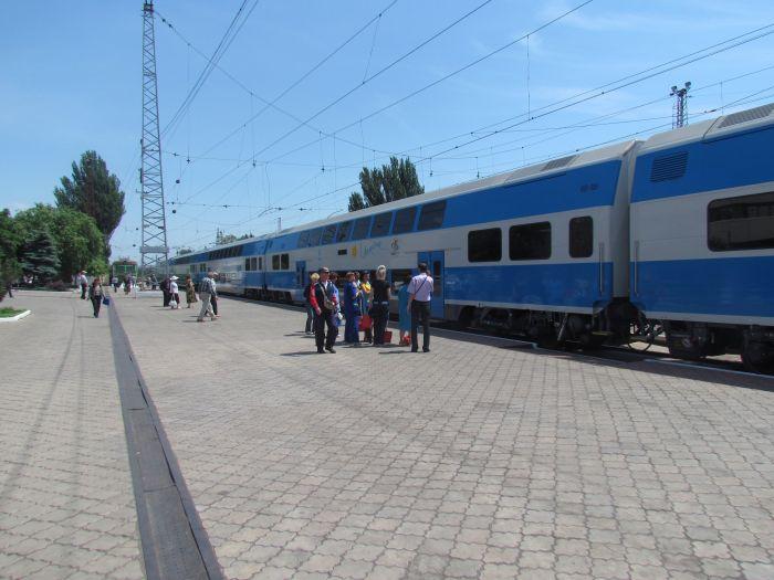 Харьковская «Шкода» прибыла в Мариуполь практически пустой (ФОТО), фото-13