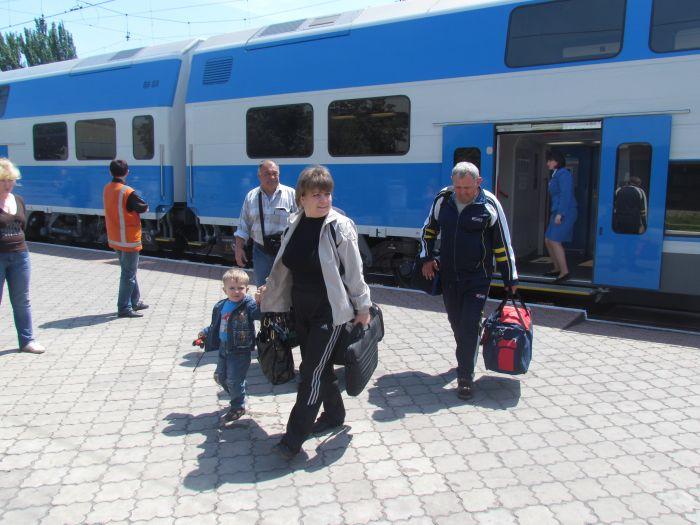 Харьковская «Шкода» прибыла в Мариуполь практически пустой (ФОТО), фото-4